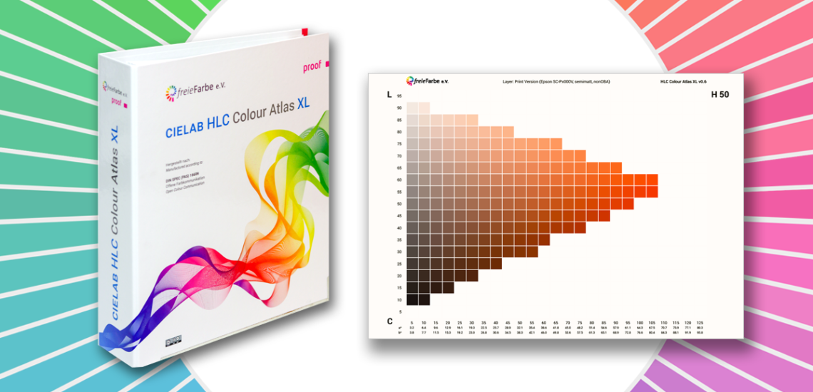 CIELAB HLC Colour Atlas XL
